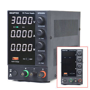 Dc Bench Power Supply Variable 0 30v 5a Adjustable Switching Regulated Hotsale