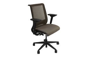 Steelcase Think Chair Brown And Black Preowned