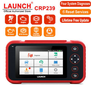 Launch Obd2 Scanner Abs Srs Sas Bms Dpf At Engine Diagnostic Tool 6 Reset Servic