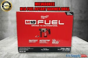 Milwaukee 2912 20 M18 Fuel 1 Sds Plus Rotary Hammer tool Only