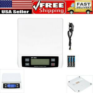 Sf 802 30kg 1g High Precision Lcd Digital Postal Shipping Scale With Adapter New