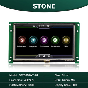 5 Inch Smart Tft Lcd Module Intelligent Touch Screen Display With Uart Port