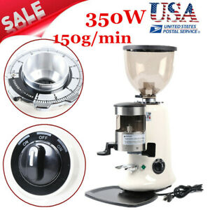 350w Commercial Electric Coffee Grinder Milling Coffee Bean Grinding Tool Abs