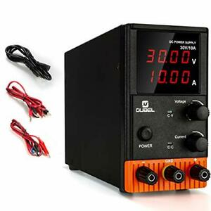 Dc Power Supply 30v 10a Variable Lab Bench Power Supply Switching 30v 10a