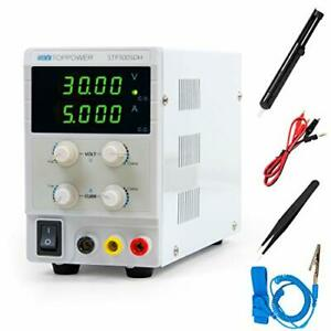 Dc Power Supply Lab Bench Power Supply 4 Read Out Variable And 30v 5a
