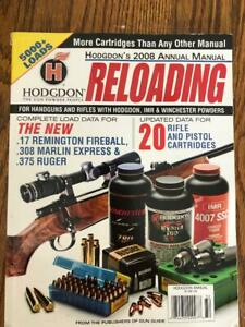 HODGDON POWDER 2008 ANNUAL RELOADING MANUAL OVER 5000 LOADS $14.50