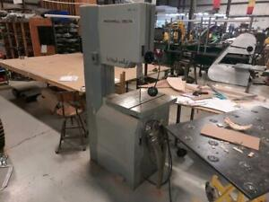 20 Rockwell Bandsaw Vertical Usa Made Wood Or Metal