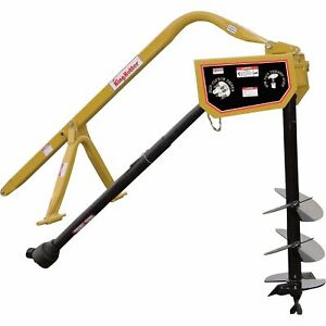 King Kutter Pto Posthole Digger With 12in Auger Model Phd 12 sc yk