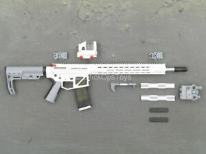 1 6 Scale Toy Banshee Stealth Warrior Light Version AR 15 Rifle w Attachments $55.25