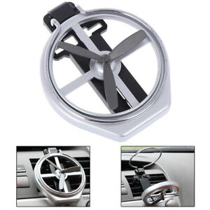 Car Air Conditioning Vent Mount Folding Cup Bracket Bottle Drink Holders Sihxg