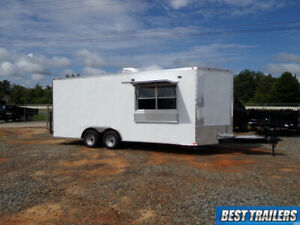 2021 8 X 20 Concession Trailer New Enclosed Vending Food Truck Kitchen 8 5 X 20