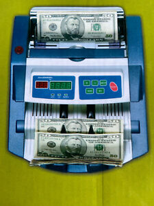 Accubanker Money Bill Counter Ab1100 Mg uv With Uv Counterfeit Detector Light