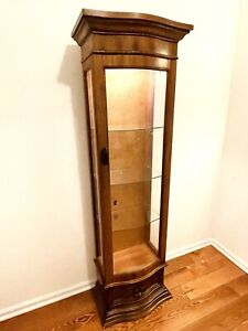 Wood Glass Display Case will Consider A Best Offer
