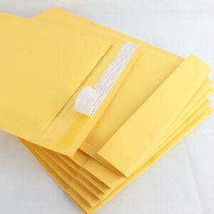 Lot Of 25 New 2 8 5x12 Inch 8 5 x12 Kraft Bubble Mailers Padded Envelopes Bags