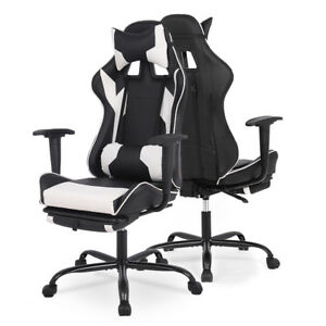 Office Chair Gaming Chair Recliner Racing High back Swivel Task Desk Chair 468