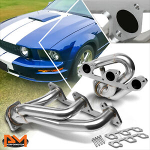 For 05 10 Ford Mustang 4 0 V6 Stainless Performance Shroty Exhaust Header Gasket