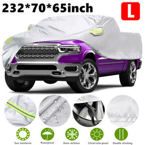 Pickup Full Truck Cover Waterproof Uv Rain Dust Outdoor Protection F150 T5l0