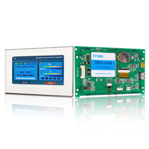 Scbrhmi 5 Inch Graphic Tft Lcd Module Intelligent Touch Screen Display Hmi
