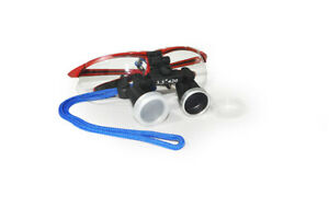 Us Red Dental Surgical Medical Loupes 3 5x420mm Optical Glass Magnifier Big Sale