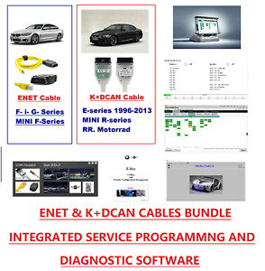 K Dcan Enet Package With Bmw Diagnostic Coding Programming Tool E Sys Inpa Etc