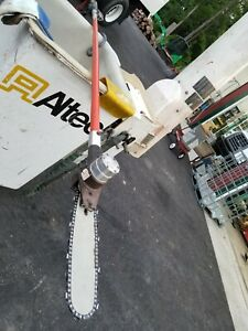 Hydraulic Chainsaw Long Reach Insulated Pole Saw For Bucket Truck Tree Equipment