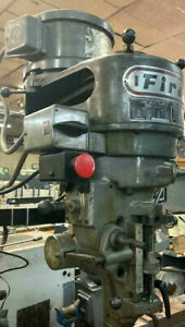 Bridgeport Milling Machine Sharpe 2 Hp 3 Phase Or Single Phase Replacemnt Head