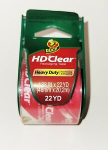 Hd Clear Duck Packaging Tape With Dispenser For Moving And Shipping