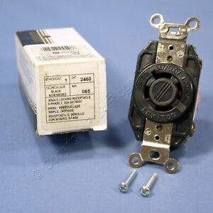 Leviton L20 20r Twist Locking Receptacle Outlet 20a 347 600v 3y 2460 065 Boxed