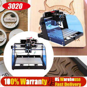 3020 Cnc Engraving Machine Carving Router 0 12000rpm For Metal Woodworking