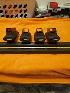 Thule 480 Rapid Traverse Foot Pack No Locks With 50 Square Load Bars