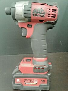 Mac Tools Impact Driver With Charger 20v