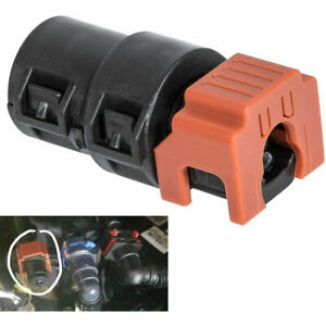 Fuel Filter Return Line Connector Fitting For 2017 20 6 7l Ford Powerstroke Red
