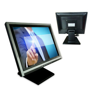 15 Touch Screen Monitor Lcd Pos Retail Kiosk Restaurant Touchscreen Hot Sale