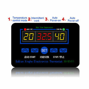 Digital Temperature Controller Thermostat High accuracy 12v 220v Many Occasions