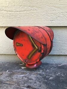 Vintage Arrow Safety Device Turn Lamp Double Hooded Signal Light Rat Rod Truck
