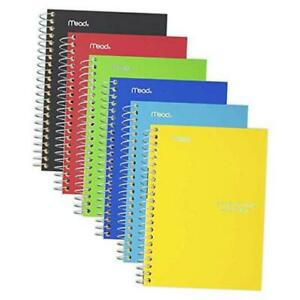 Small Spiral Notebooks 1 Subject College Ruled Paper 100 Sheets 7 X 4