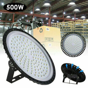 New 500w Ufo Led High Bay Light Warehouse Industrial Light Fixture 50000 Lm