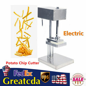 Stainless Steel French Fry Cutter Potato Vegetable Slicer Chopper 3 Blades
