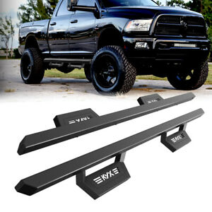 5 Running Board Side Step Nerf Bar For 2007 2020 Toyota Tundra Crew Max Black