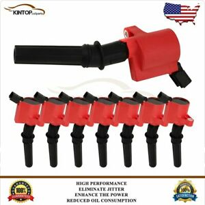 8 Ignition Coil Pack For Ford F150 Expedition 2000 2001 2002 2003 2004 46l54l