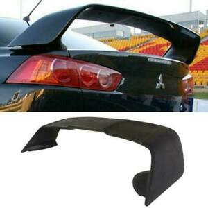 Rear Trunk Abs Spoiler Wing For 2008 2017 Mitsubishi Lancer Evo 10 Evo X Style