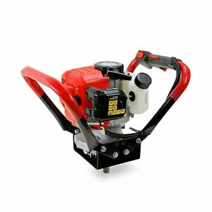Xtremepowerus V type 55cc 2 Stroke Gas Post Hole Digger One Man Auger Epa Mac