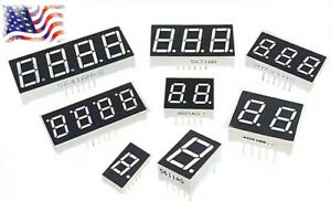 1 2 3 4 Digit Red 7 Segment Led Display You Choose Common Anode cathode Digital