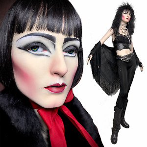 Siouxsie Vintage Goth Punk Realistic Full Female Mannequin Glass Eyes Life Size