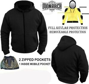 Motorcycle Hoodie Jacket Fully lined with DuPont™ KEVLAR® $89.99