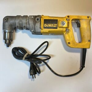 Dewalt Dw120 Dw 120 1 2 Right Angle Drill Corded Power Tool Works Great Read