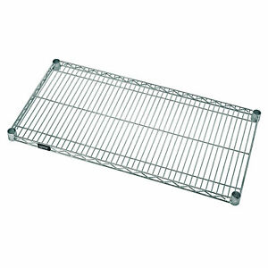 Quantum Stainless Steel Shelf Width 18 In Depth 48 In Material Stainless Steel