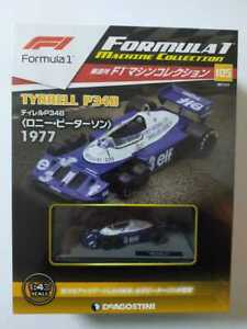 No105 143 F1 Machine Collection Tyrrell P34b Ronnie Peterson 1977 Shrink
