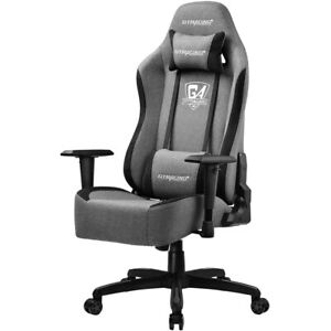 Gtracing Gaming Chair Fabric Office High Back Reclining Computer Desk Chair