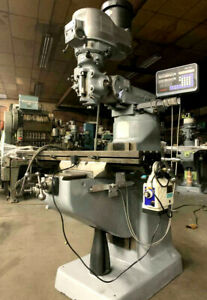 Bridgeport Milling Machine knee Mill With Power Feed And Dro